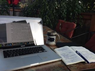 Writingoutside